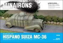 Minairons 28GEV008 Hispano Suiza armoured car (single)